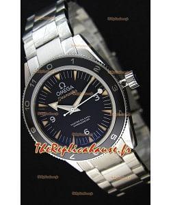Montre Omega Seamaster300 CoAxial 007 Édition Spectre Répliquée à l'identique 1:1 Version Ultime
