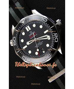 Montre Omega Seamaster300M Co-Axial Master Chronometer Suisse Répliquée à l'identique 1:1