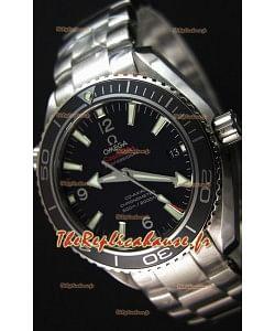 Montre Omega Seamaster Planet Ocean 42mm Suisse Bracelet noir, Édition Ultime