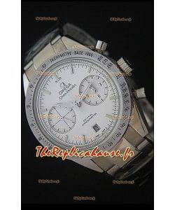 Omega Speedmaster 57 Co-Axial Chronograph - Marqueurs en Acier Montre Suisse