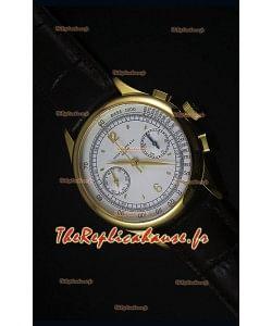 Montre Replica Suisse Patek Philippe Complications 5170G en Or Jaune