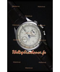 Montre Replica Suisse Patek Philippe Complications 5170G avec un Cadran Crème
