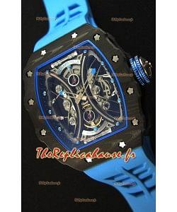 Richard Mille RM53-01 Pablo Mac Donough Boîtier Carbone Montre Réplique Suisse