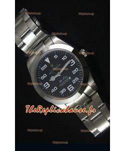 Montre Suisse pour Hommes Rolex Replica Datejust avec un clavier en Chiffres Arabes - 41MM