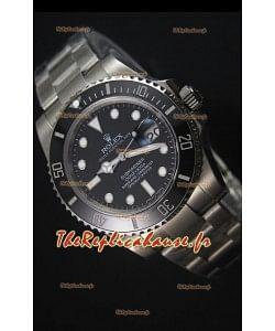 Rolex Submariner 116610 Céramique Noire - Meilleure édition 2017 Montre Réplique Suisse