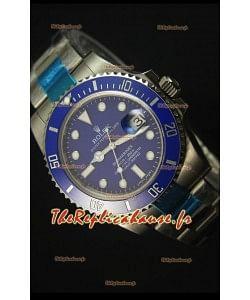 Rolex Submariner 116610 Céramique Bleue - Meilleure édition 2017 Montre Réplique Suisse