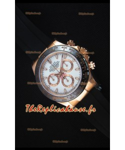Rolex Daytona 116515 Everose 1:1 Mirror Replica White Dial Watch