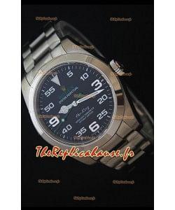 Rolex Air King 116900  - Montre Réplique Suisse Miroir 1: 1 Plaqué Nickel
