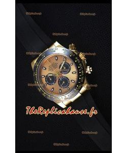 Rolex Daytona 116515 Everose Montre Réplique Suisse Miroir 1:1 en Or Jaune