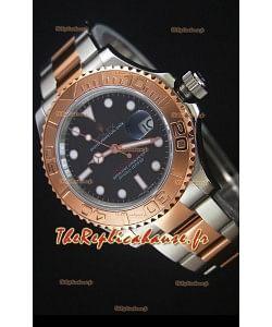 Rolex Yacht-Master 40 Everose Montre Réplique Suisse en Or avec Mouvement 2836-2