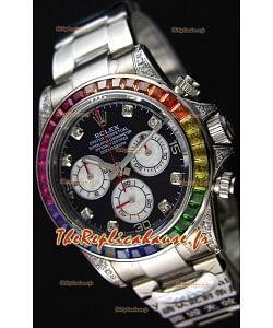 Rolex Cosmograph Daytona 116509 Acier Inoxydable 1:1 Miroir Cal.4130 Mouvement - Montre Ultime Acier 904L