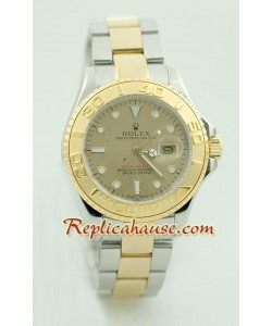 Rolex Replique Yacht Master Two Tone Mid Sized