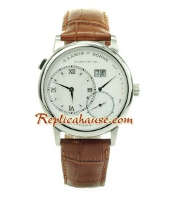A. Lange & Sohne Grand Lange 1 Leather Montre