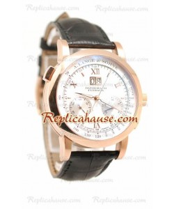 A. Lange & Sohne Datograph Flyback Chronograph Suisse Hommes Montre