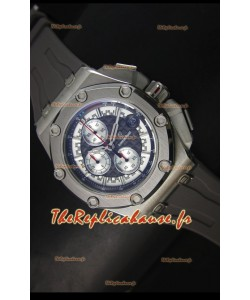 Montre Royal Oak Offshore Michael Schumacher Audemars Piguet avec mouvement à quartz - Grise