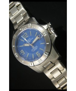 Réplique de montre automatique Ball Hydrocarbone Spacemaster sur cadran bleu - mouvement Citizen original