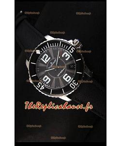Réplique de montre suisse Édition spéciale 500 Phatoms Blancpain avec cadran noir