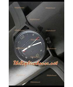 Porsche Design Worldtimer P6750 Swiss Montre avec Boîtier PVD