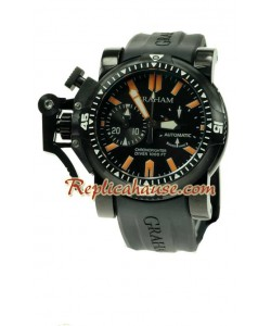 Graham Oversize Chronofighter Divers Montre Suisse Replique - PVD
