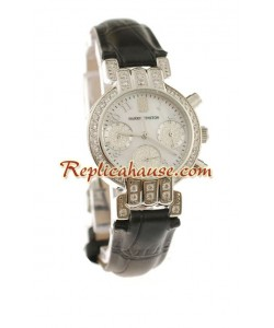 Harry Winston Chronograph Suisse Femmes Montre Replique