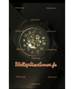 Montre à quartz suisse Hublot Big Bang King F1 45mm avec revêtement PVD