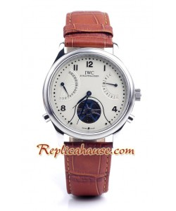 IWC Portuguese Tourbillon Mystere Montre Replique