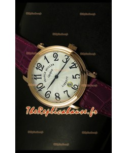 Montre japonaise Franck Muller Master of Complications Liberty sur bracelet marron