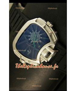 Montre japonaise Hublot Big Bang MP 02 Édition Key of Time dans boîtier acier inoxydable