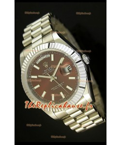 Réplique de montre suisse Rolex Day Date II 41MM - Cadran vert - Réplique de montre miroir 1:1