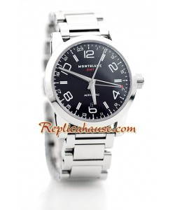 Mont Blanc Timewalker GMT Montre Suisse Replique