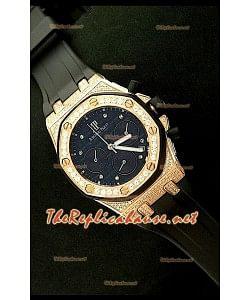 Audemars Piguet Royal Oak Femmes Chronograph Montre en Or Rose