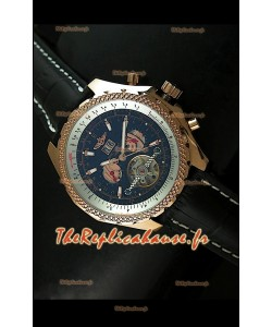 Breitling Pour Bentley Reproduction Montre Tourbillon Japonaise