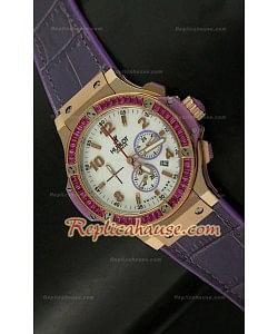 Hublot Big Bang Rose Gold Femmes Montre - 38MM