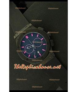 Hublot Vendome Chronograph Japanese Montre avec PVD