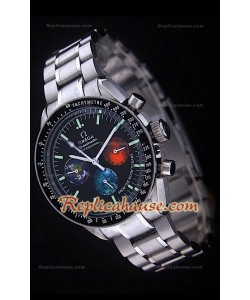 Omega Speedmaster Racing Michael Schumacher Colorful Sub Dials Montre