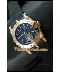 Roger Dubuis Tourbidiver Tourbillon Swiss Replica Montre