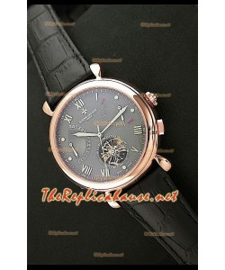 Vacheron Constantin Calender Complications Montre Cadran Gris Or Rose
