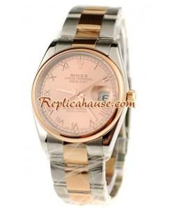 Rolex Replique Datejust Suisse Two Tone Montre