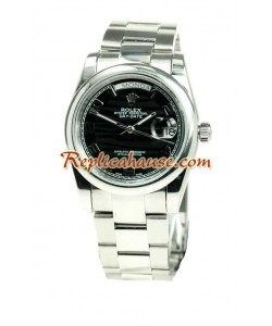 Rolex Replique Day Date Silver Montre