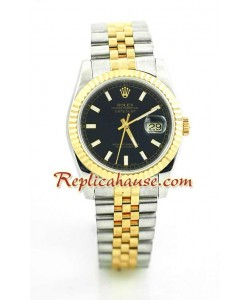 Rolex DateJust Montre Suisse Replique