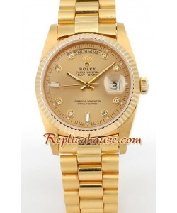 Rolex Replique Day Date d' or