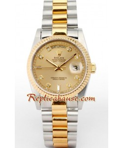 Rolex Replique Day Date-Two-tone
