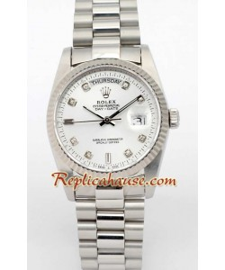 Rolex Replique Day Date-Silver