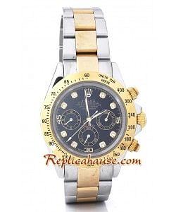 Rolex Replique Daytona Two Tone Montre