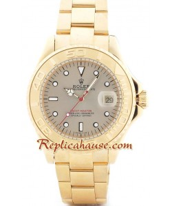 Rolex Yacht Master d' or - d' or Face