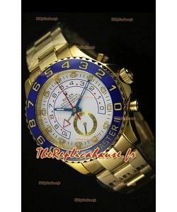 Rolex Yachtmaster II Or jaune - Réplique ultime (chronomètre opérationnel)