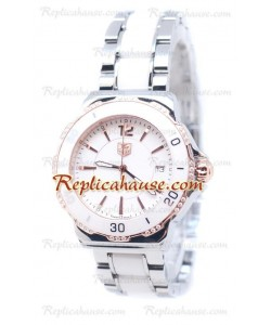 Tag Heuer Formula 1 Quartz Ceramic Diamonds Bezel Montre