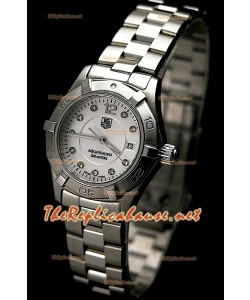 Tag Heuer Aquaracer Femme Suisse Quartz Montre en Diamants Markers