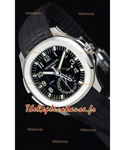 Patek Philippe Aquanaut 5164A montre à miroir 1:1 en cadran noir