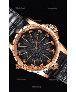 Roger Dubuis chevaliers de la table ronde montre suisse réplique